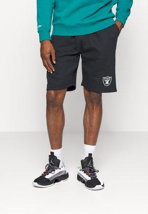 NFL LAS VEGAS RAIDERS MID ESSENTIALS SHORT - Sports shorts - black