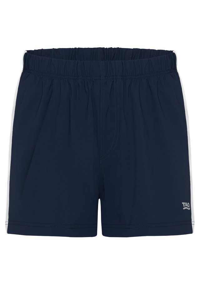 FABIUS - Sports shorts - dark blue/white