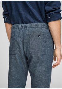 s.Oliver - Trousers - blue - 5