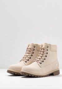 Fila - MAVERICK - Lace-up ankle boots - oyster grey - 4