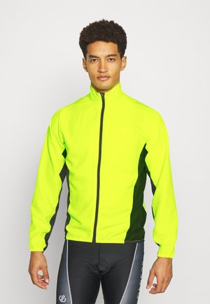 ABLAZE WINDSHELL - Windbreaker - fluor yellow/black