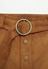 Violeta by Mango - SEVEN - A-line skirt - schokolade - 6
