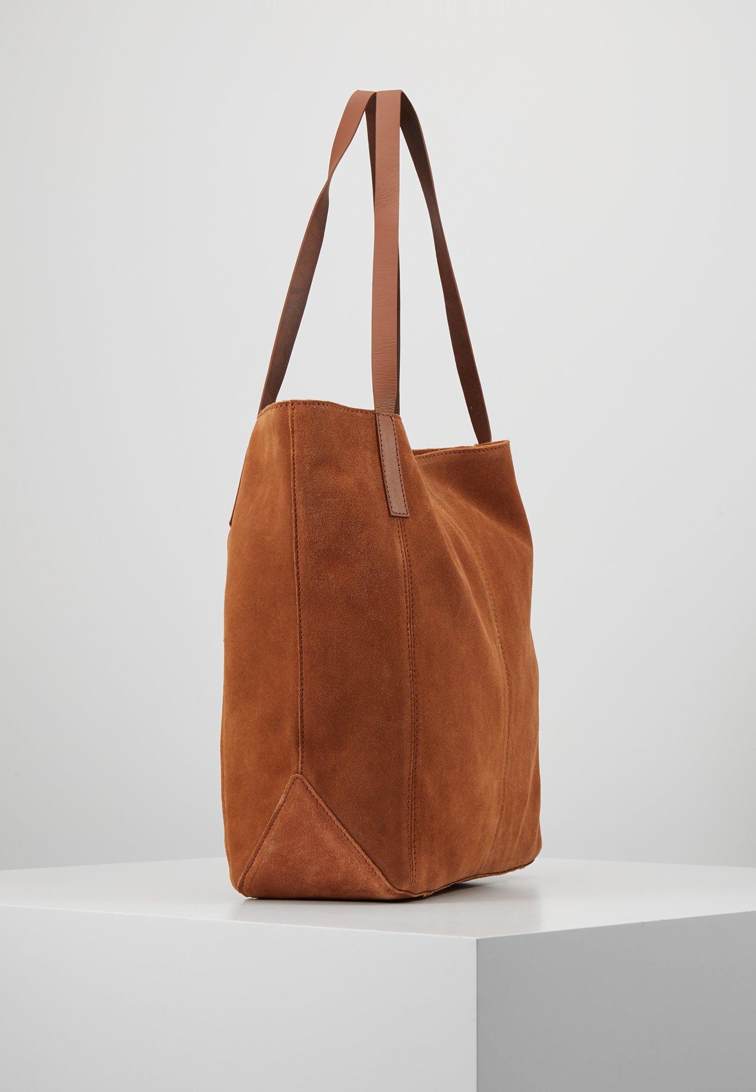 Anna Field Shoppingveske cognackonjakk Zalando.no