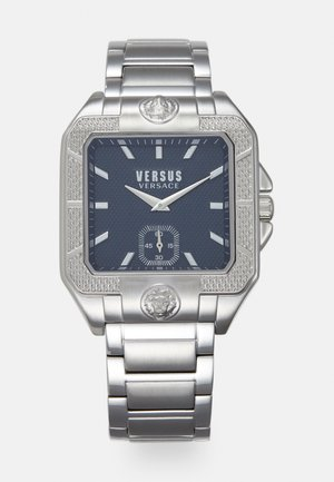 TEATRO - Watch - silver-coloured/blue