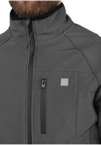 Solid - SOLANE - Light jacket - iron gate - 3