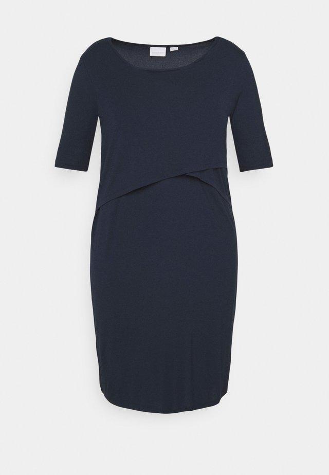 MLALISON JUNE DRESS - Jerseyklänning - navy blazer