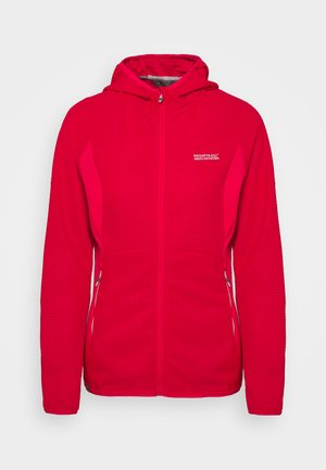 WOMENS TEROTA - Fleece jacket - neon pink