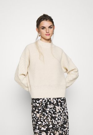 WEET R KNIT WMN L\S - Pullover - ivory