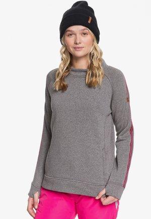 RESIN OVERHEAD - Fleece jumper - gray