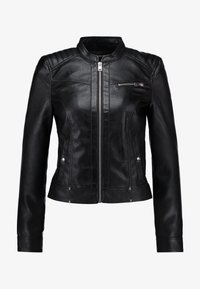 Vero Moda - VMSHEENA SHORT JACKET - Giacca in similpelle - black - 4