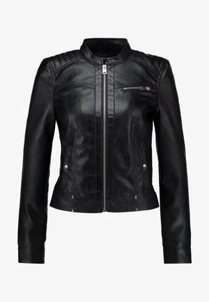 VMSHEENA SHORT JACKET - Giacca in similpelle - black