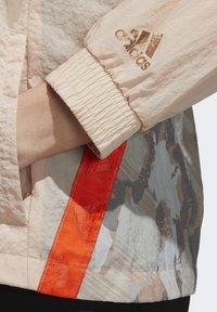 adidas Performance - Windbreaker - beige - 4
