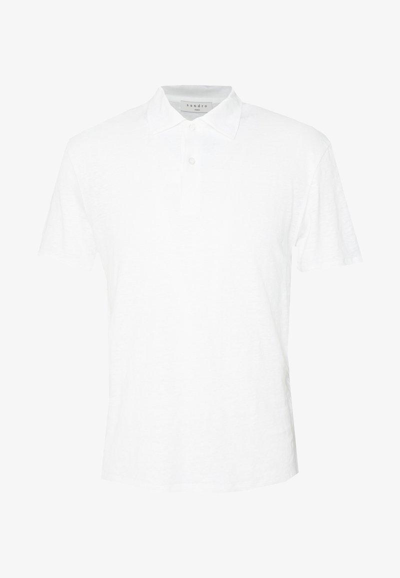 sandro - BEACH - Polo shirt - blanc