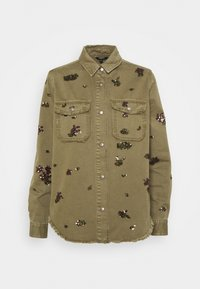 Desigual - Button-down blouse - green - 4