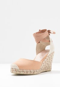 Office Wide Fit - MARMALADE WIDE FIT - High heeled sandals - nude/rose gold - 4
