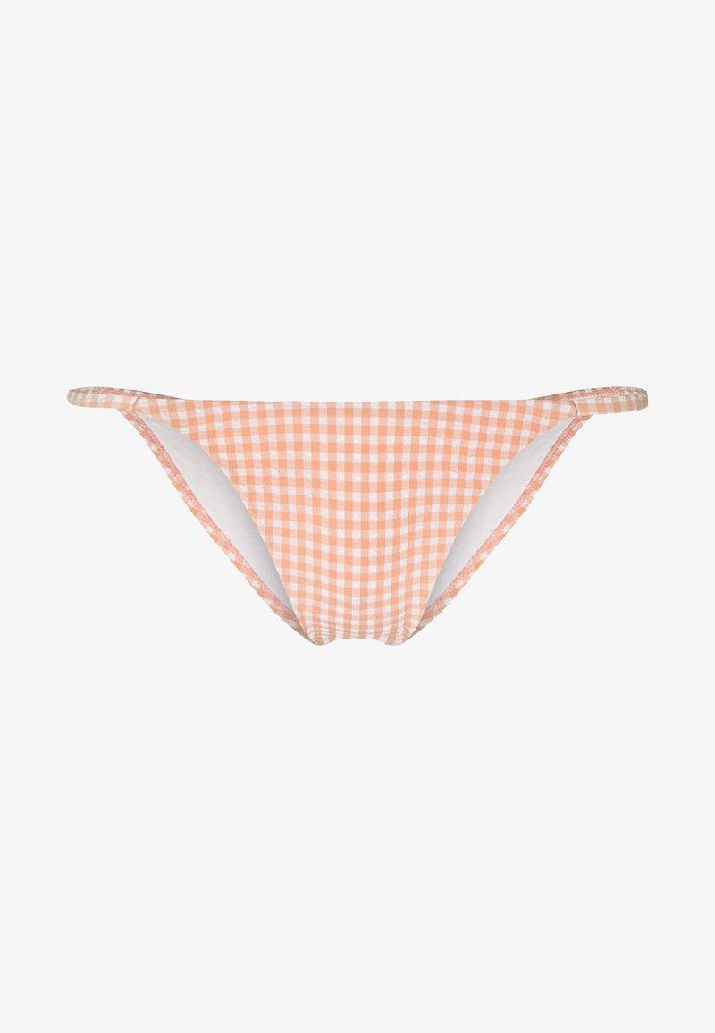Topshop - TANGA - Bikiniunderdel - peach