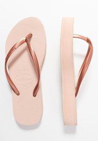 Havaianas - SLIM FLATFORM - Pool shoes - ballet rose - 2