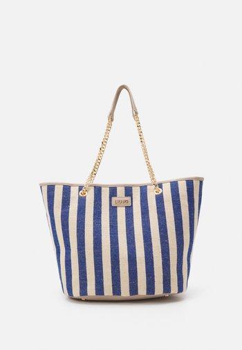 XL TOTE - Handbag - blue