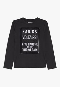 Zadig & Voltaire - Long sleeved top - anthrazit - 0