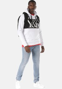 Young and Reckless - HYBRID - Hoodie - white - 1