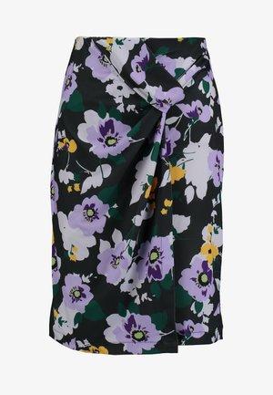 Mini skirts  - grey/purple