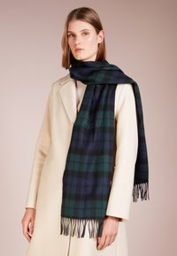Barbour - NEW CHECK TARTAN SCARF - Scarf - navy - 1