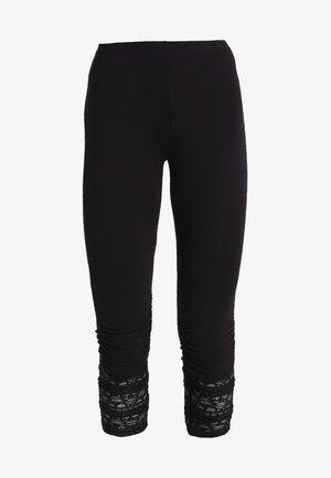 AGNES  - Leggings - Trousers - pitch black