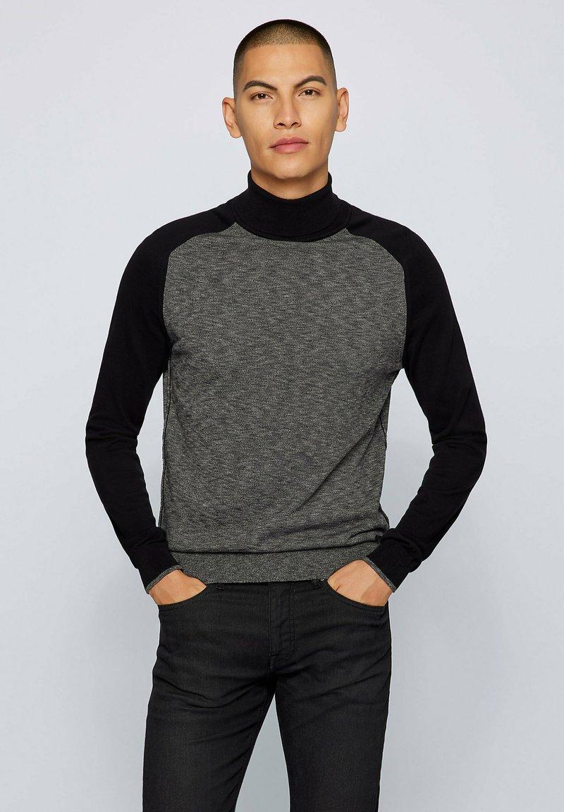BOSS - KAMNIORE - Jumper - dark grey