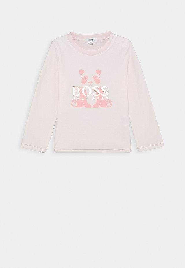 LONG SLEEVE BABY - Camiseta de manga larga - pinkpale
