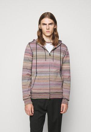 CARDIGAN - veste en sweat zippée - multi