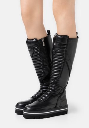 HILL STREET - Platform boots - black