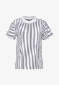 SURRY TEE - Print T-shirt - white/navyblue