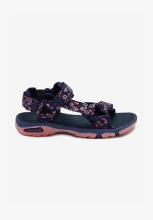 FLORAL TREKKERS - Chodecké sandály - dark blue