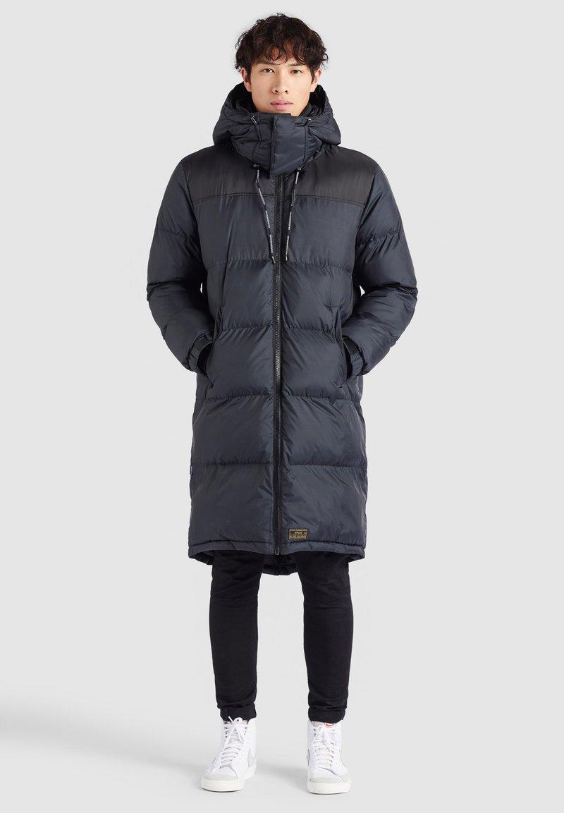 khujo - PERUN - Winter coat - schwarz print