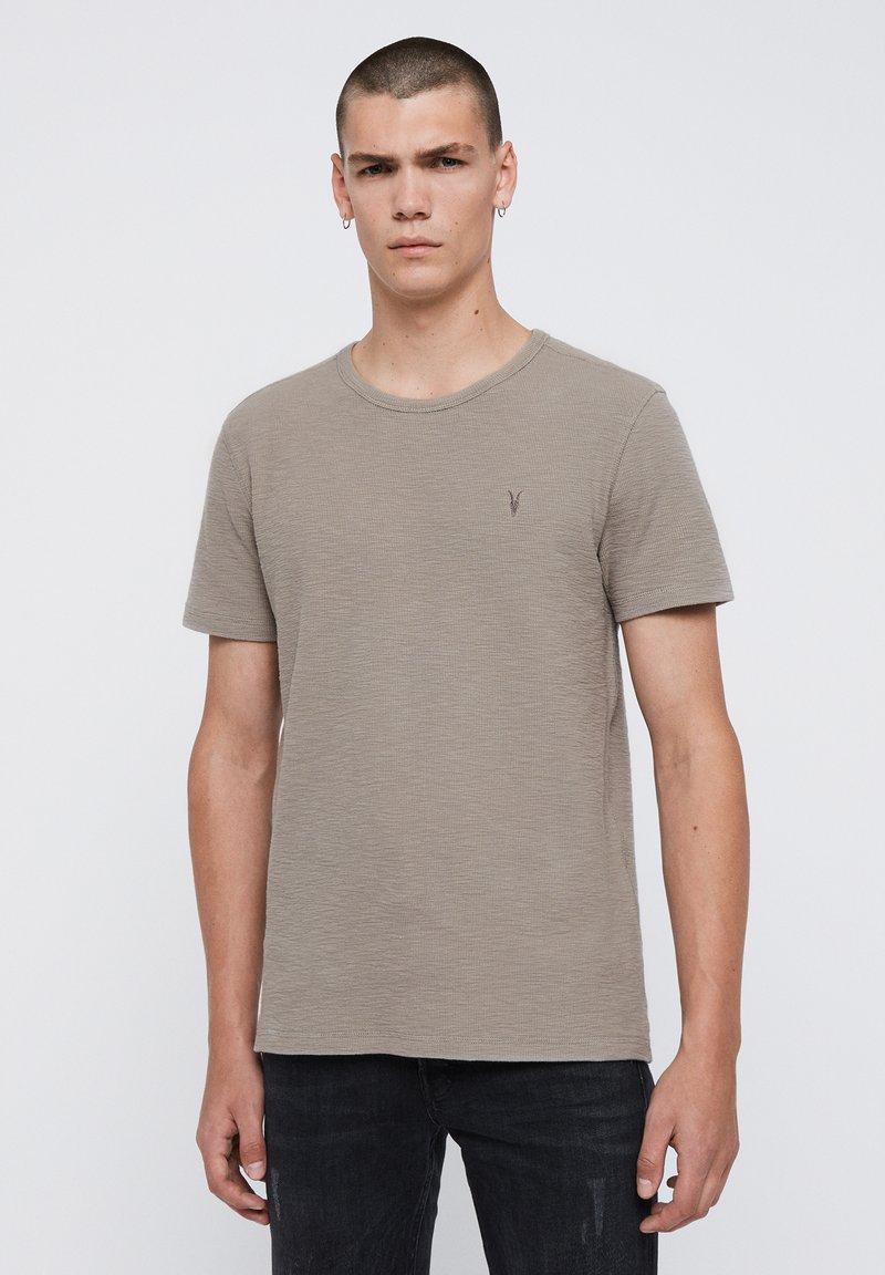 AllSaints - MUSE - Basic T-shirt - grey