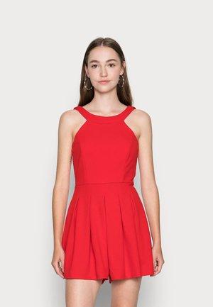 SKATER DRESS - Overal - red