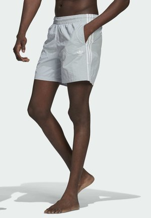 ADICOLOR CLASSICS 3-STRIPES SWIM SHORTS - Swimming shorts - blue