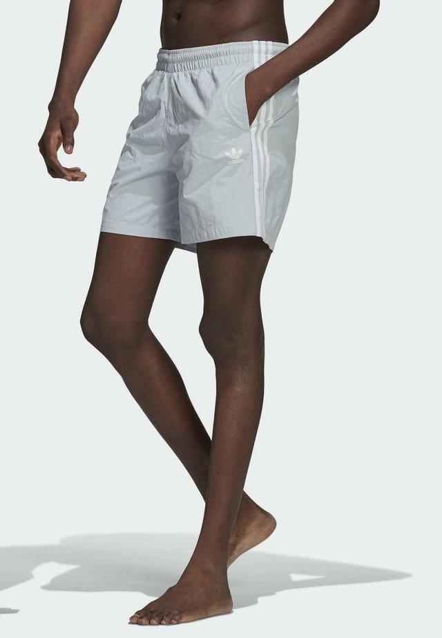 ADICOLOR CLASSICS 3-STRIPES SWIM SHORTS - Swimming shorts - blue