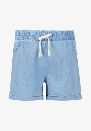 Denim shorts - blue