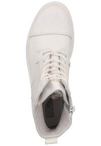 Steven New York - Snørestøvletter - white leather 107 - 1