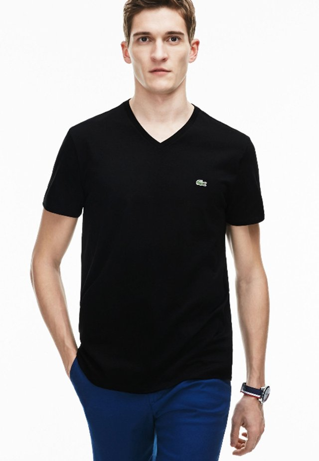 REGULAR FIT TH6710 - T-shirt basique - noir