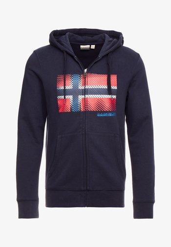 BIBU - Zip-up sweatshirt - blue marine