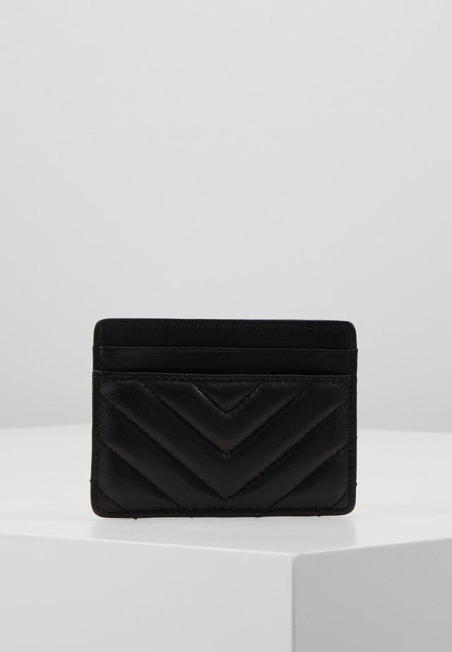 CARD HOLDER - Lompakko - black