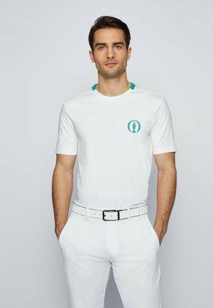 TEE BO - Print T-shirt - white