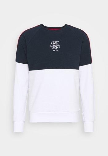 MEGARA - Sweatshirt - rich navy/optic white
