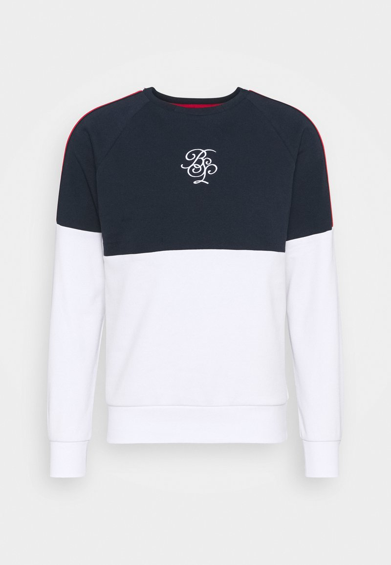 Brave Soul - MEGARA - Sweatshirt - rich navy/optic white