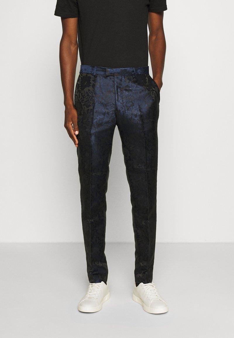 Topman - PARIS  - Kalhoty - dark blue