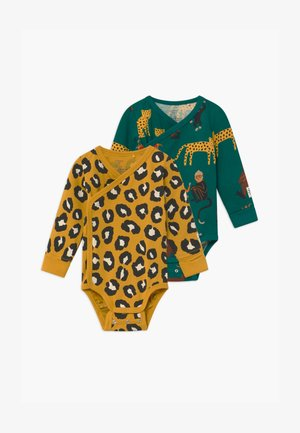 MONKEY STORY MONKEY LEOPARD 2 PACK - Body - green