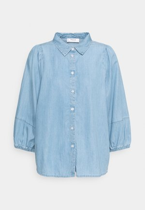 JAINA 3/4 - Button-down blouse - blue wash