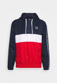 sergio tacchini - BELUSHI TRACKTOP - Training jacket - navy/red - 5